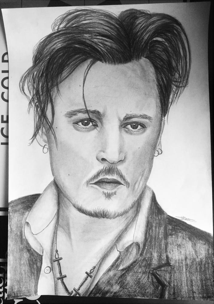 Johnny Depp by wilson